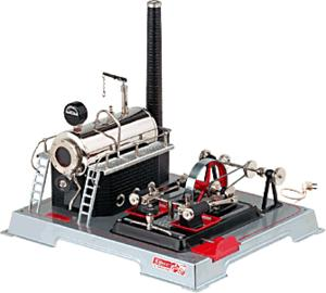 model steam engine D222 - electric version of Steam workshop D22 Wilesco