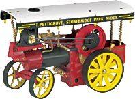 model steam engine D409 - Steam engine Wilesco