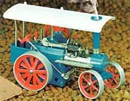 model steam engine D415 - Mobile steam engine KIT(similar to D405 assembled) Wilesco