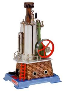 model steam engine D455 - Vertical steam engine Wilesco