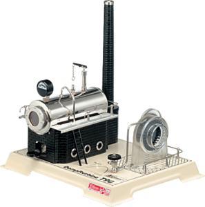 machine à vapeur T90 Turbine à vapeur Wilesco Quirao idées cadeaux