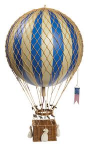 maquette d'avion Montgolfière Royal Aero, bleu - 32 cm Authentic Models -AM- Quirao idées cadeaux