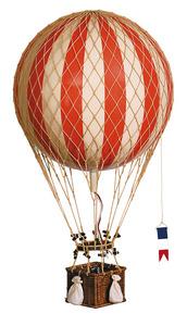 maquette d'avion Montgolfière Royal Aero, Rouge - 32 cm Authentic Models -AM- Quirao idées cadeaux
