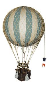 maquette d'avion Montgolfière Royal Aero, vert - 32 cm Authentic Models -AM- Quirao idées cadeaux