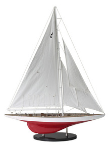 maquette de bateau, voilier, runabout Ranger J 1937 - 69 cm Authentic Models -AM- Quirao idées cadeaux