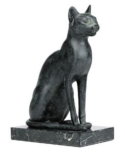 sculpture egyptienne chat