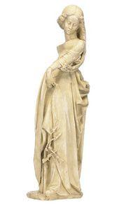 statue femme de brou moulage en r sine. Black Bedroom Furniture Sets. Home Design Ideas