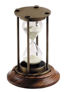 horloge Sablier 30 minutes bronze Authentic Models -AM- Quirao idées cadeaux