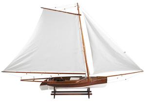 maquette de bateau, voilier, runabout Sandbagger Hyannis - 121 cm Authentic Models -AM- Quirao idées cadeaux