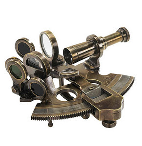 astrolabe, compass, sextant Bronze Pocket Sextant Authentic Models -AM-