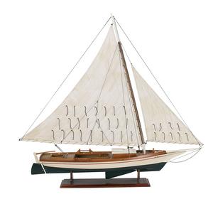 maquette de bateau, voilier, runabout SkipJack - 111 cm Authentic Models -AM- Quirao idées cadeaux