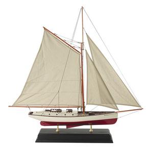 maquette de bateau, voilier, runabout Yacht classique 1930 - 90 cm Authentic Models -AM- Quirao idées cadeaux