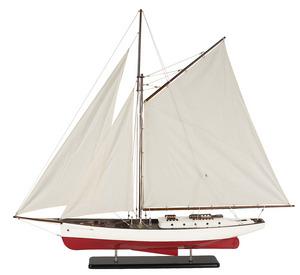maquette de bateau, voilier, runabout Yacht classique 1930 - 130 cm Authentic Models -AM- Quirao idées cadeaux