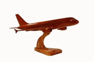 maquette d'avion Airbus A321 - 48 cm La Collection d'Avions Quirao idées cadeaux
