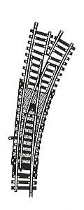 accessoire de train Aiguillage Model courbe manuel à droite (H0) 6075 Fleischmann Quirao idées cadeaux
