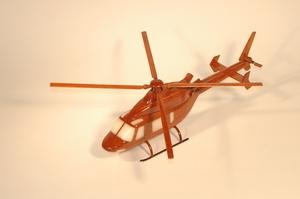 maquette d'helicoptère Bell 427 - 40 cm La Collection d'Avions Quirao idées cadeaux
