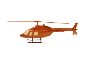 maquette d'helicoptère Bell 206b  -  42 cm La Collection d'Avions Quirao idées cadeaux