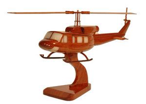 maquette d'helicoptère Bell 214 -  44 cm La Collection d'Avions Quirao idées cadeaux