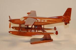 maquette d'avion Cessna C208F Caravan - 39 cm La Collection d'Avions Quirao idées cadeaux