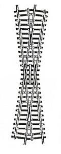 accessoire de train Croisement Model 15° (H0) Fleischmann Quirao idées cadeaux