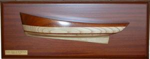 demi-coque Gabare demi-coque 87 x 30 cm L'Herminette Quirao idées cadeaux
