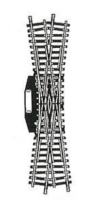 accessoire de train Double traverse Model électrique  (H0) 6066 Fleischmann Quirao idées cadeaux