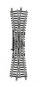 accessoire de train Double traverse Model manuelle  (H0) 6065 Fleischmann Quirao idées cadeaux