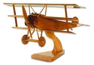 maquette d'avion Fokker DR1 - Red Barron La Collection d'Avions Quirao idées cadeaux