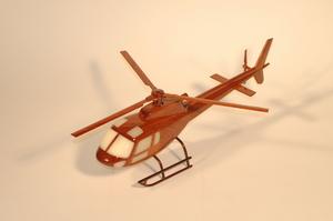 maquette d'helicoptère Eurocopter Ecureuil AS-350B La Collection d'Avions Quirao idées cadeaux