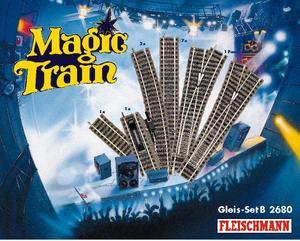 accessoire de train Set de voies B Magic Train  (H0)  2680 Fleischmann Quirao idées cadeaux