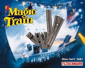 accessoire de train Set de voies C Magic Train  (H0)  2681 Fleischmann Quirao idées cadeaux