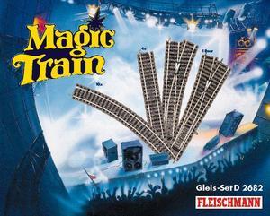 accessoire de train Set de voies D Magic Train  (H0)  2682 Fleischmann Quirao idées cadeaux