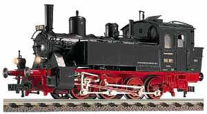 train miniature 0-8-0 Loco-tender DR type 98 (H0) 4098 Fleischmann Quirao idées cadeaux