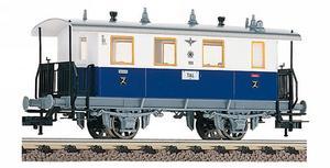 train miniature Voiture bleu crème  (H0)  5053 Fleischmann Quirao idées cadeaux
