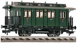 train miniature Voiture 2/3e classe  (H0)  5058 Fleischmann Quirao idées cadeaux