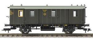train miniature Fourgon à bagages  (H0)  ref 5090 Fleischmann Quirao idées cadeaux