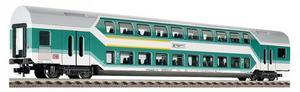train miniature Voiture à 2 niveaux 1/2 cl.  (H0)  5124 Fleischmann Quirao idées cadeaux