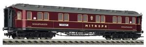 train miniature Voiture Mitropa 6-ax (H0)  5156 Fleischmann Quirao idées cadeaux