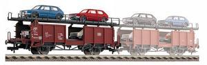 train miniature Wagon porte_autos  (H0) 5225 Fleischmann Quirao idées cadeaux