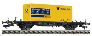 train miniature Wagon cont g.post (H0)  5237 Fleischmann Quirao idées cadeaux