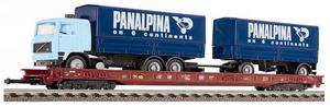 train miniature Wagon surbaissé  (H0)  5273 Fleischmann Quirao idées cadeaux