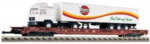 train miniature Wagon transport de camions  (H0)  5279 Fleischmann Quirao idées cadeaux