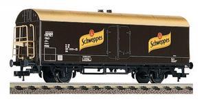 train miniature Wagon  Schweppes   (H0)  5343 Fleischmann Quirao idées cadeaux