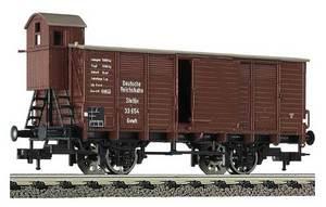 train miniature Wagon couvert stett. (H0)  5360 Fleischmann Quirao idées cadeaux