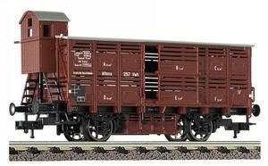 train miniature Wagon transport bétail  (H0)  5362 Fleischmann Quirao idées cadeaux