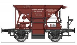 train miniature Wagon a ballast  (HO)  5505 Fleischmann Quirao idées cadeaux