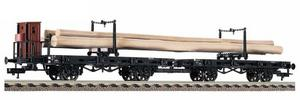 train miniature Wagon transport bois  (H0)  5723 Fleischmann Quirao idées cadeaux