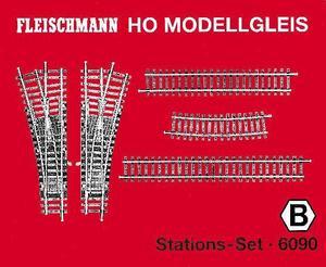accessoire de train Set de rails gare Model (H0) Fleischmann Quirao idées cadeaux