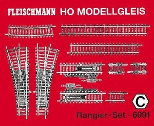 accessoire de train Set de rails triage Model (H0) Fleischmann Quirao idées cadeaux