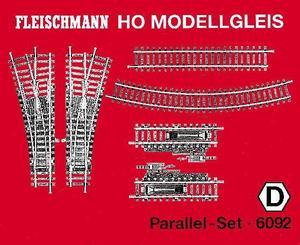 accessoire de train Set de rails parallèles Model (H0) Fleischmann Quirao idées cadeaux